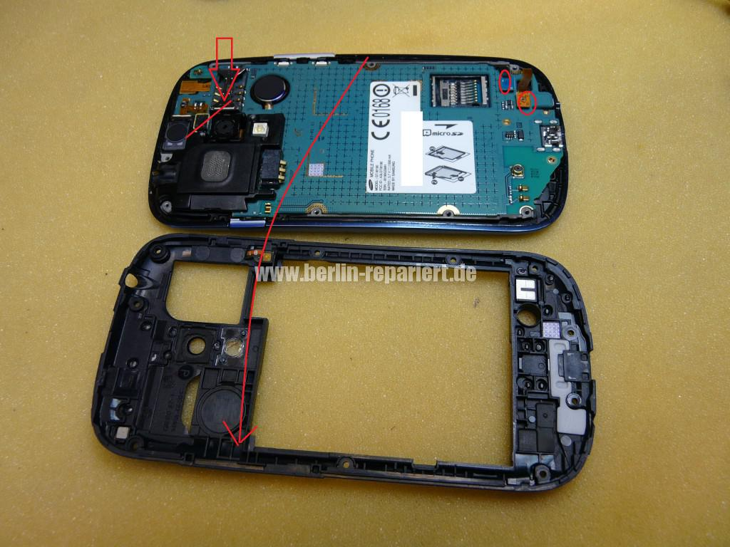 Samsung S3 mini, i8190, Display Tauschen (3)