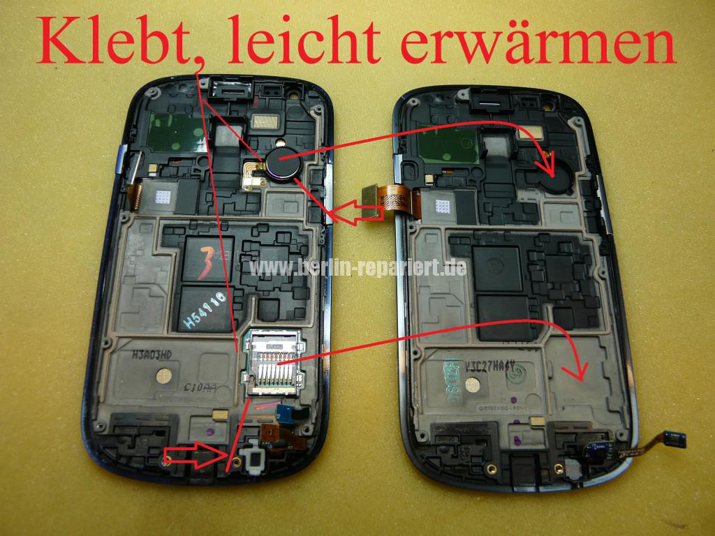 Samsung S3 mini, i8190, Display Tauschen (6)
