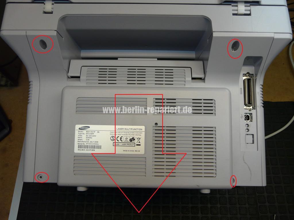 Samsung SCX-4521F, keine Funktion (4)