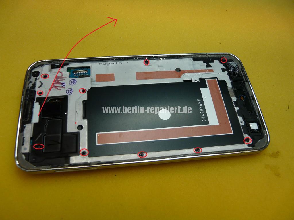 Samsung SM-G900F, Display Tauschen (12)