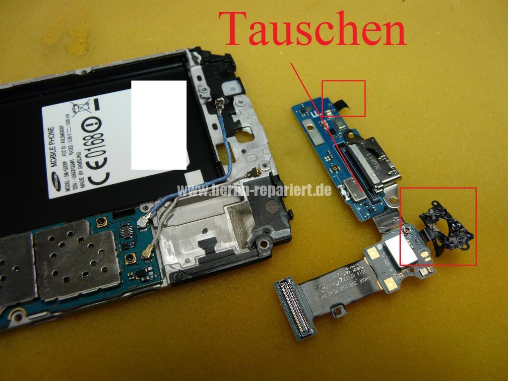 Samsung SM-G900F, Display Tauschen (24)