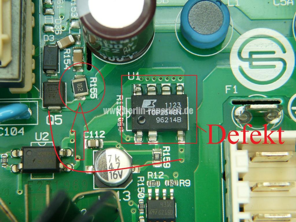 Siemens EQ TK7 Steuerungmodul Defekt (3)