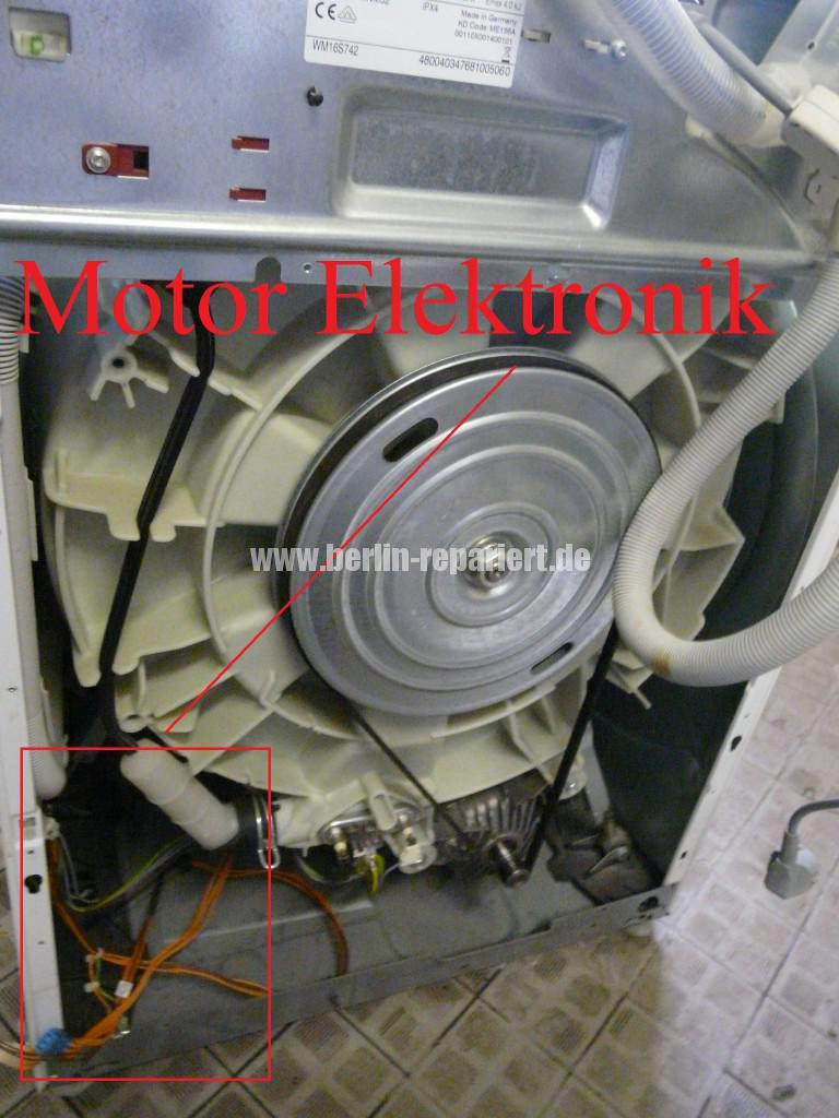 Siemens S16-74 WM16S742 F57, Fehler 57, Motor Elektronik Defekt (1)
