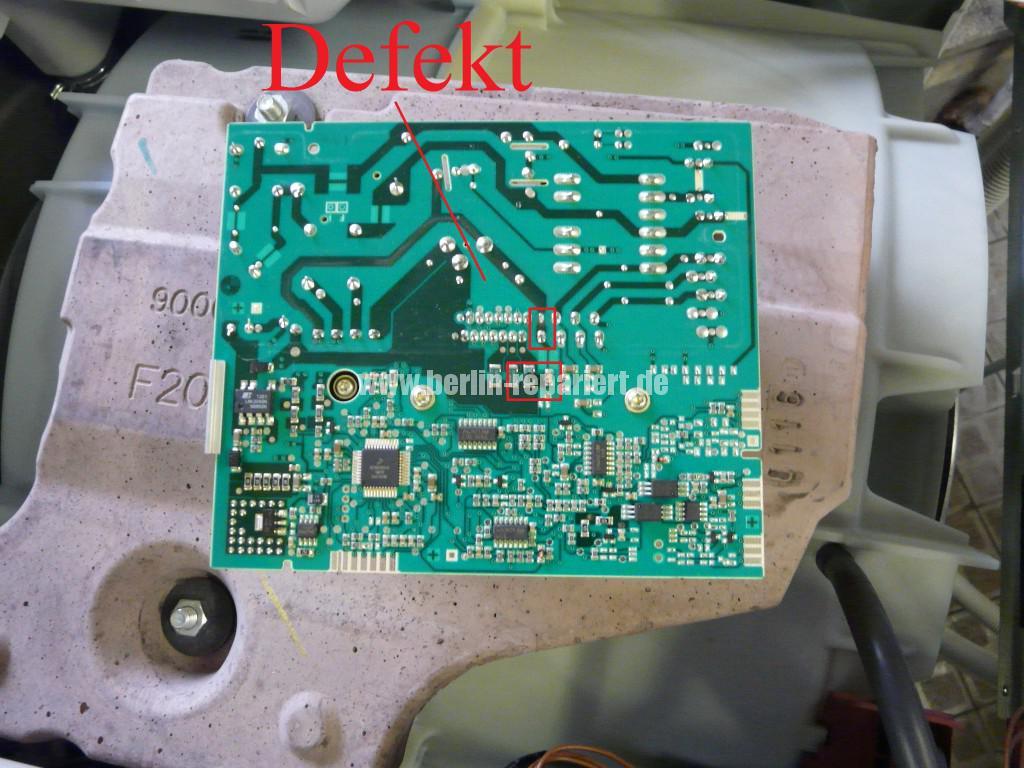 Siemens S16-74 WM16S742 F57, Fehler 57, Motor Elektronik Defekt (3)