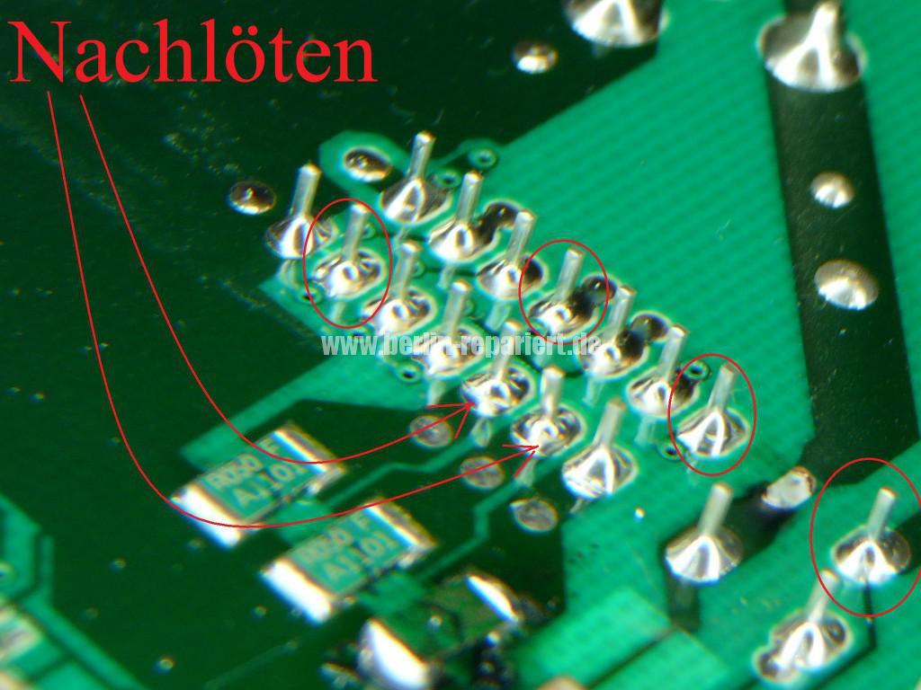 Siemens S16-74 WM16S742 F57, Fehler 57, Motor Elektronik Defekt (8)
