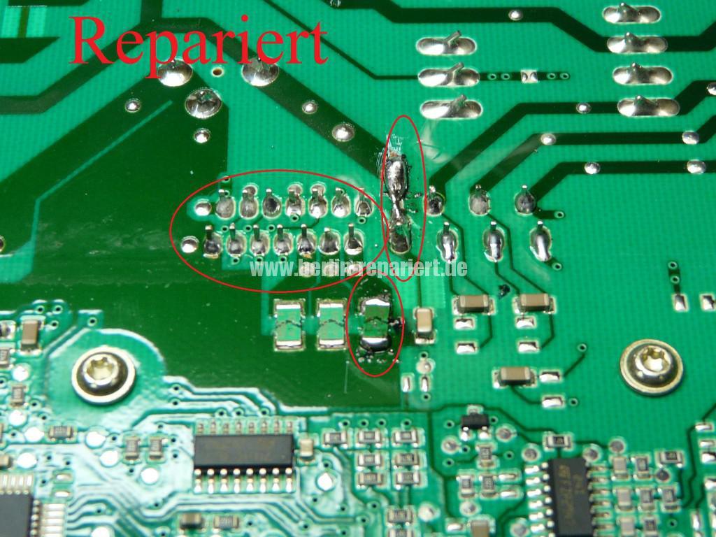 Siemens S16-74 WM16S742 F57, Fehler 57, Motor Elektronik Defekt (9)