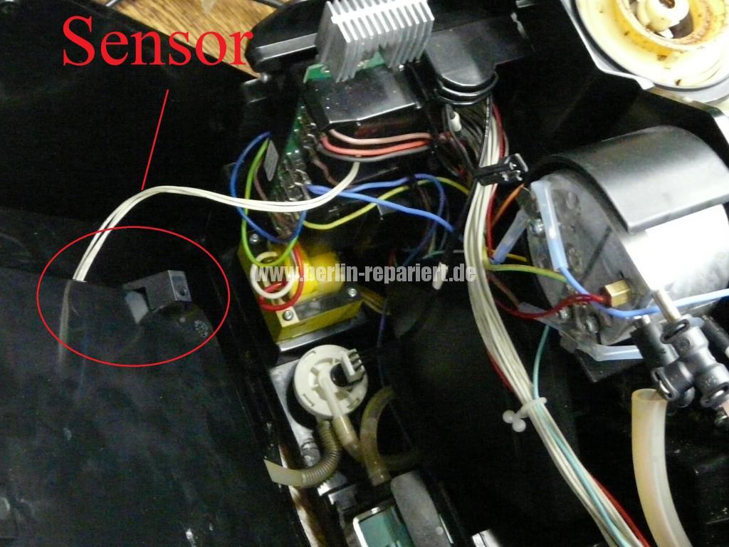 Siemens Surpresso TK58001, Wassertank Fehler  (2)