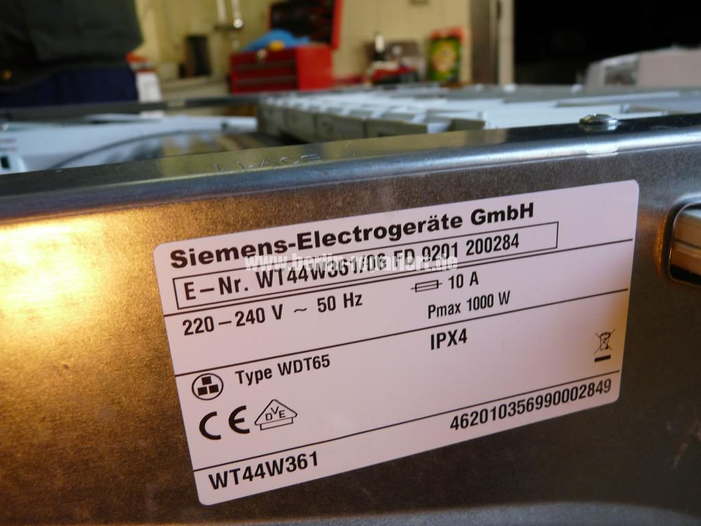 Siemens iQ500, WT44W361, Trommel schleift (11)