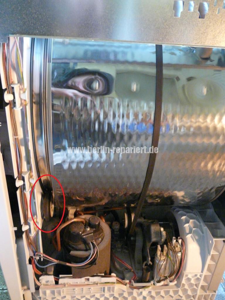 Siemens iQ500, WT44W361, Trommel schleift (3)