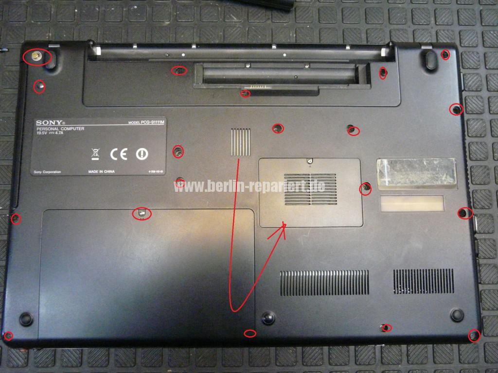 Sony VPCEC4L1E mit Hama 12192, Netzbuchse Defekt (2)