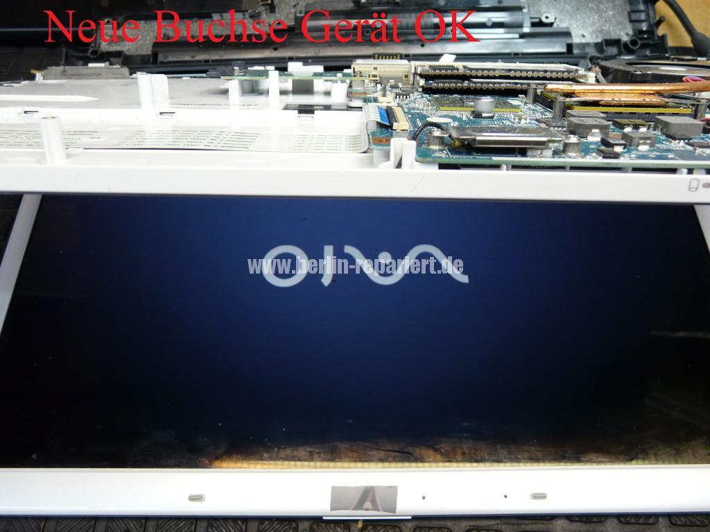 Sony VPCEC4L1E mit Hama 12192, Netzbuchse Defekt (6)