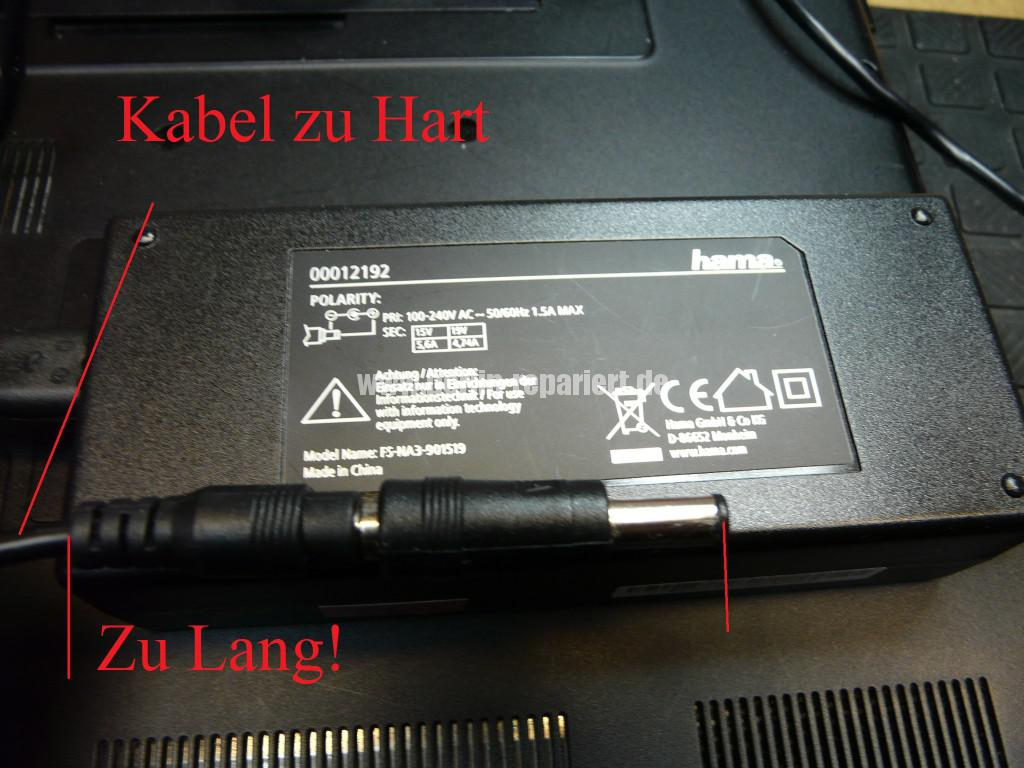 Sony VPCEC4L1E mit Hama 12192, Netzbuchse Defekt (8)