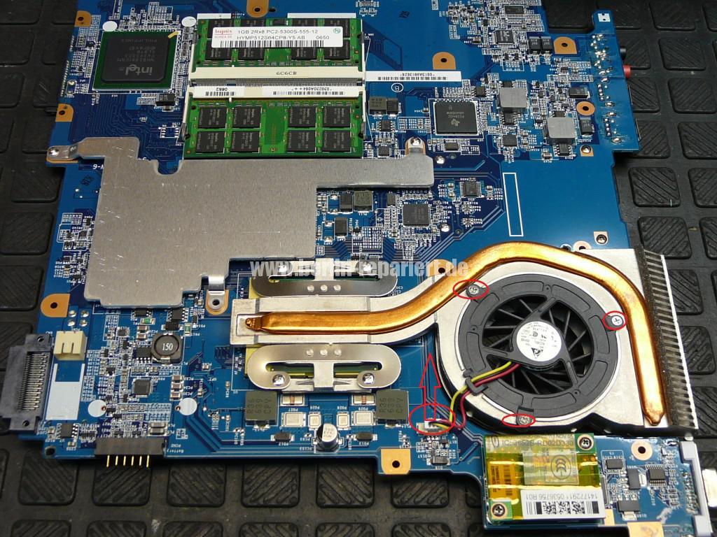 Sony Vaio VGN-N21Z, Lüfter Defekt (11)