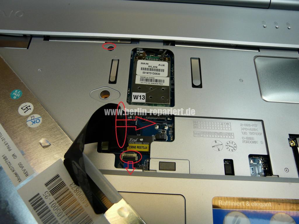 Sony Vaio VGN-N21Z, Lüfter Defekt (5)