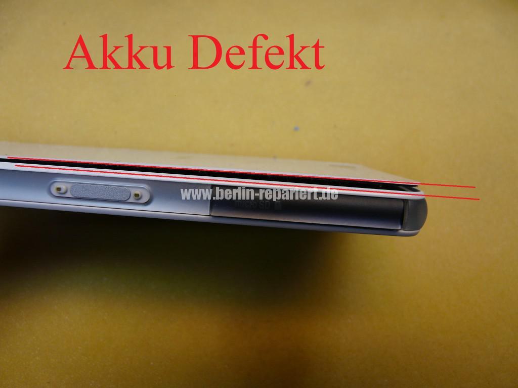 Sony Xperia Z3 Compact, Gefahr AKKU Defekt (2)
