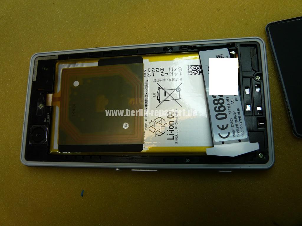 Sony Xperia Z3 Compact, Gefahr AKKU Defekt (4)