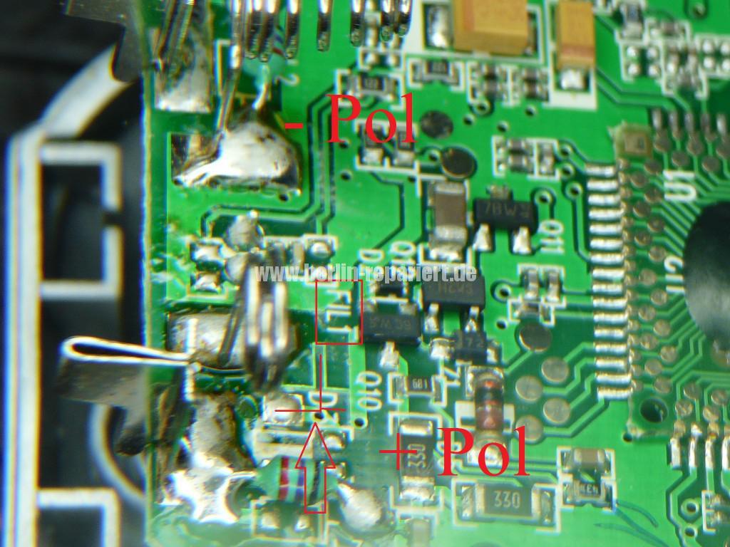 T Com Sinus A 10, keine Funktion, Akku wird nicht geladen (7)