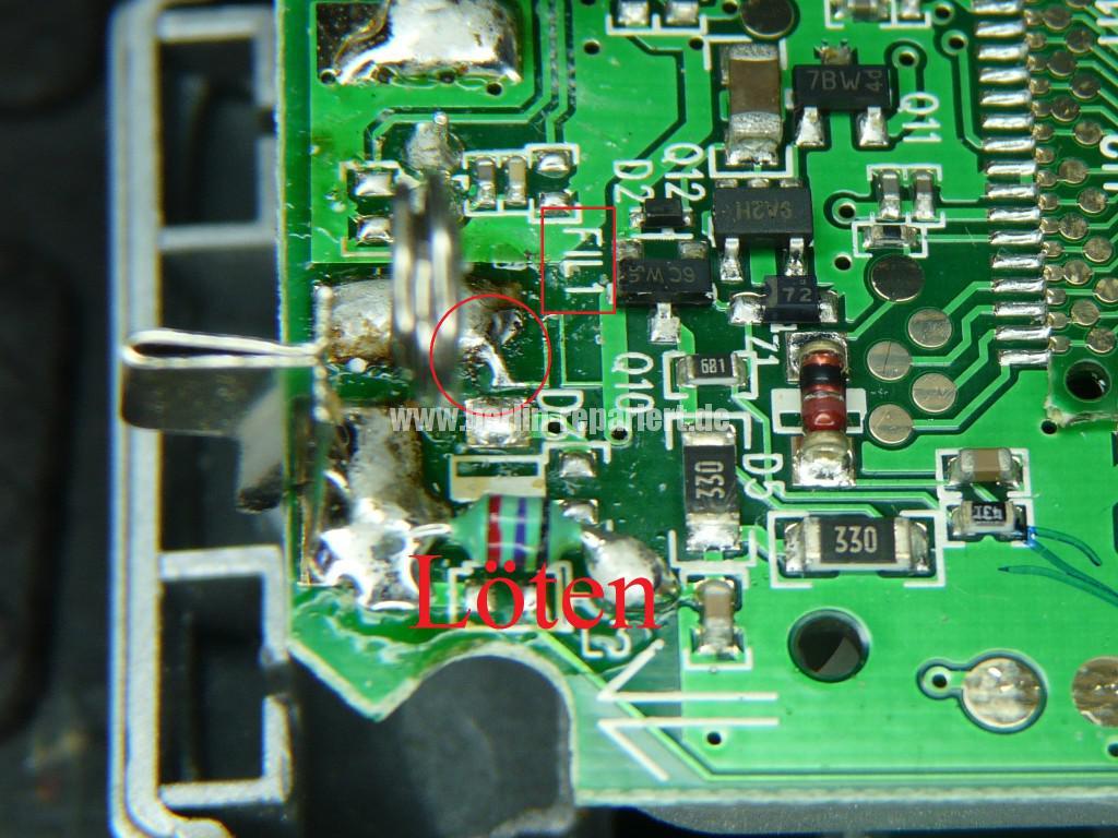 T Com Sinus A 10, keine Funktion, Akku wird nicht geladen (8)