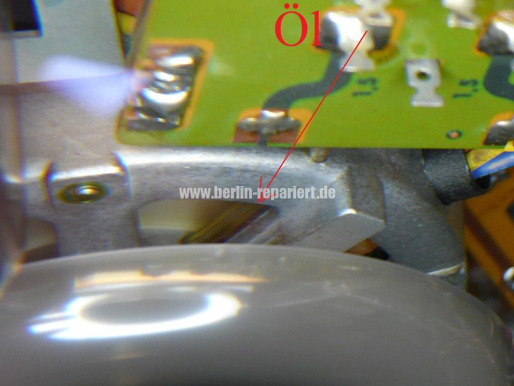 TEAC A-3300, Capstanmotor zu langsam, Capsatnmotor dreht nicht (10)