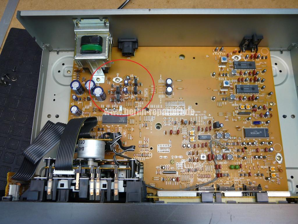 Technics RS-B655, geht alleine aus (1)
