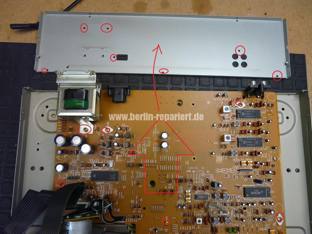 Technics RS-B655, geht alleine aus (3)