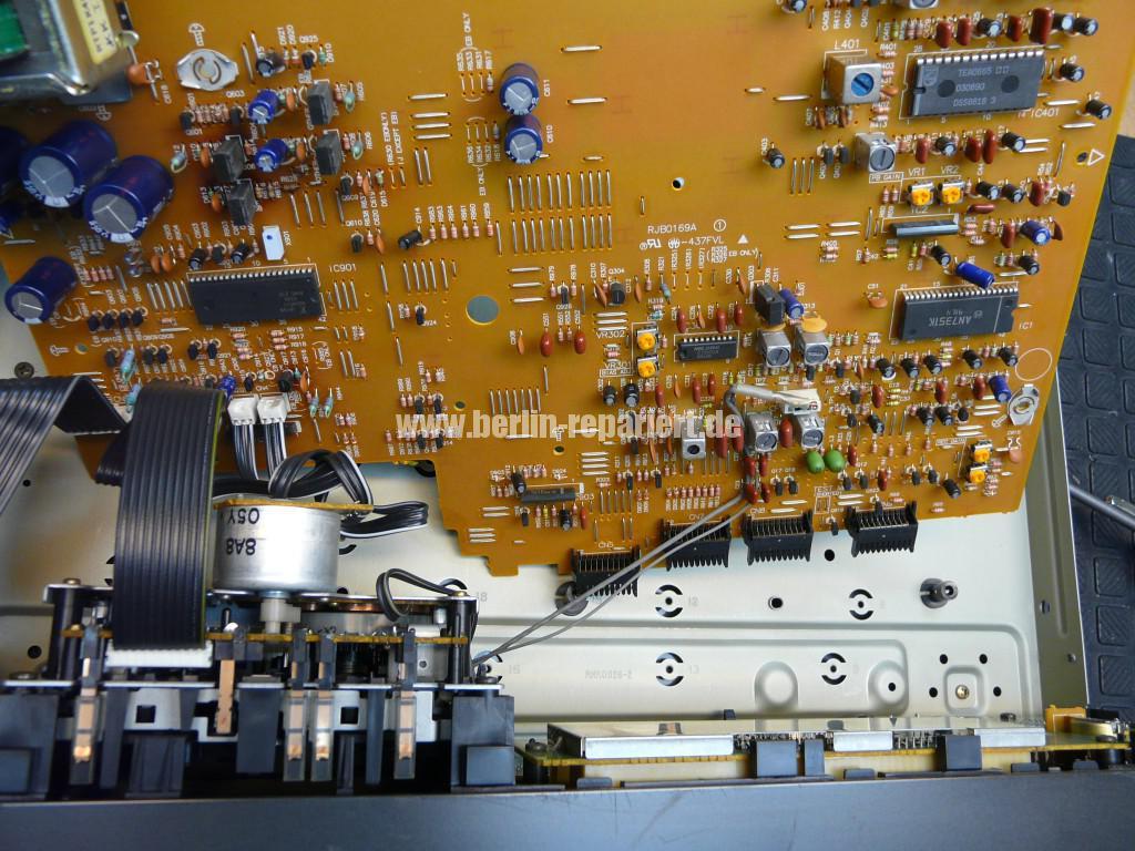 Technics RS-B655, geht alleine aus (4)