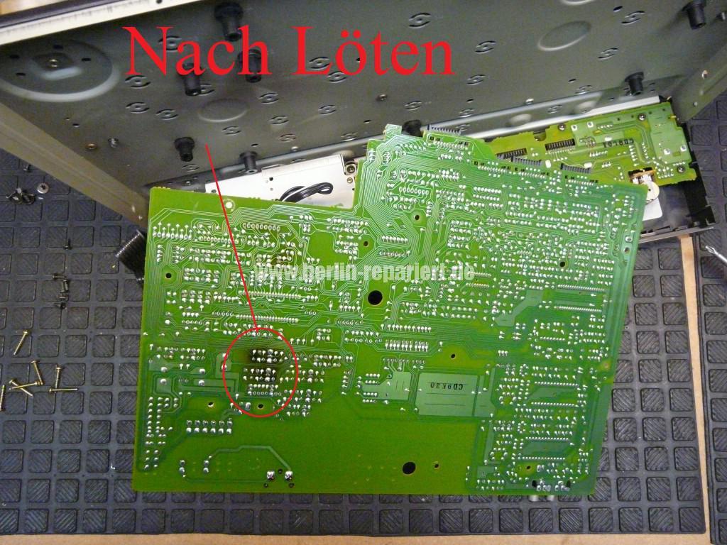 Technics RS-B655, geht alleine aus (5)