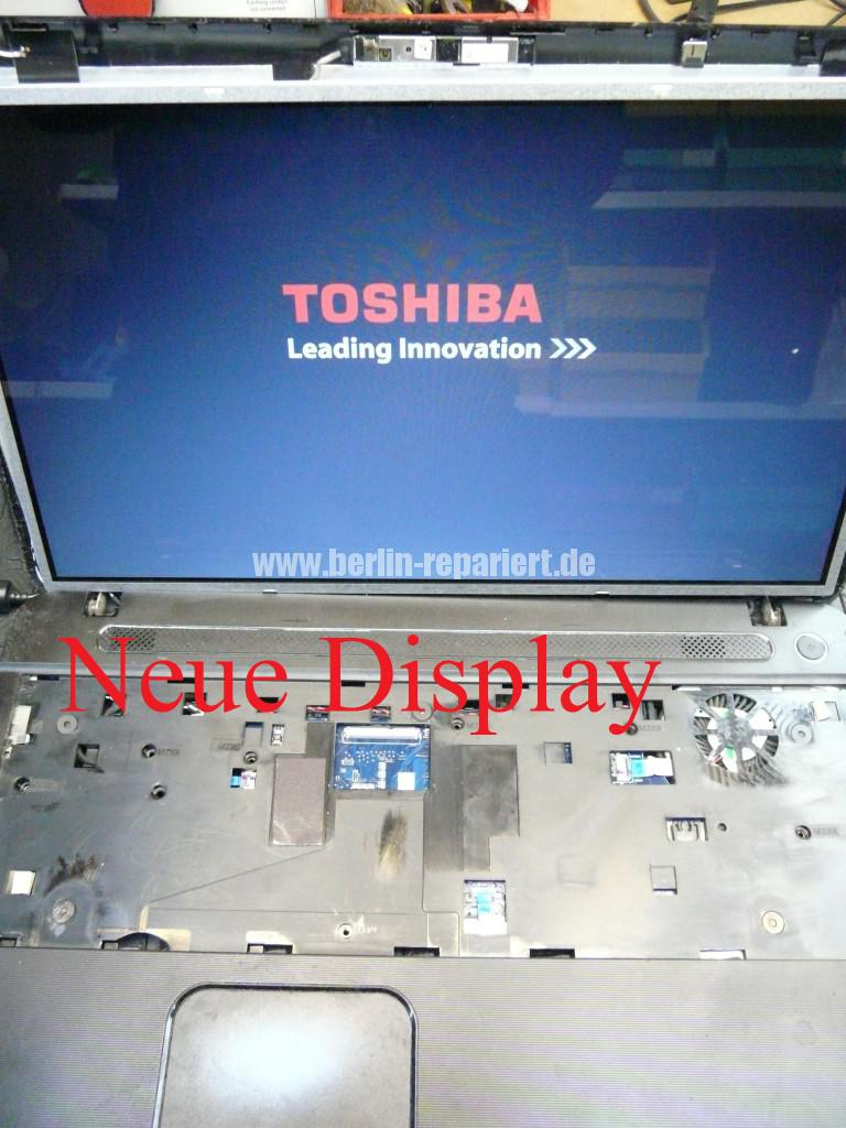 Toshiba C50D, kein Bild, CMOS Batterie, Lüfter Reinigen (8)