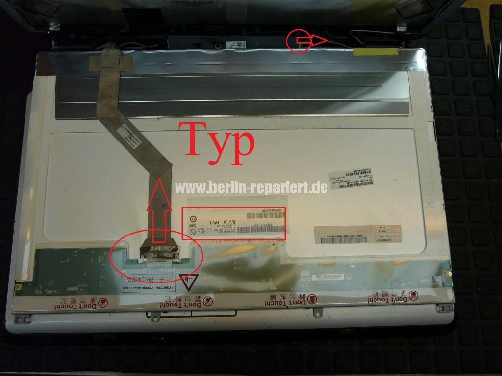 Toshiba SDatellite L350, Display Defekt (7)