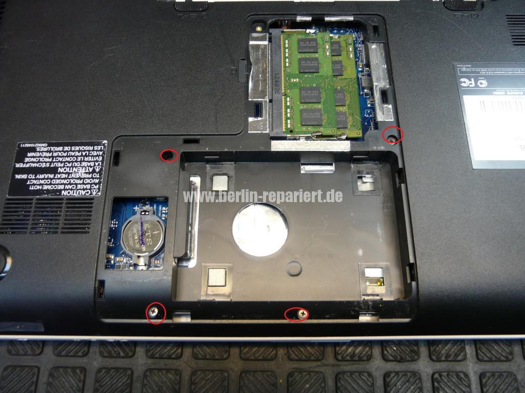 Toshiba Satellite C855, kein Bild, Scharniere, Display Deckel Defelt (3)