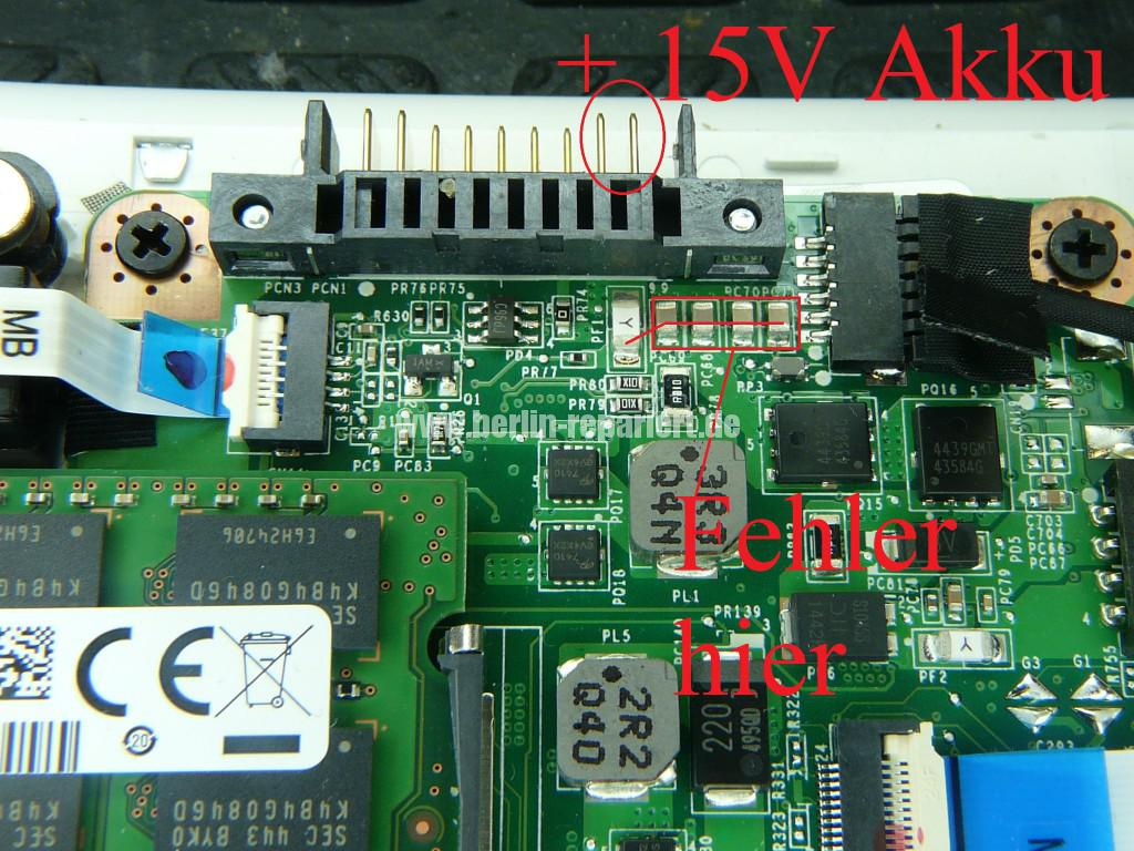 Toshiba Satellite L50, mit Akku Startet nicht, geht schwer an (11)