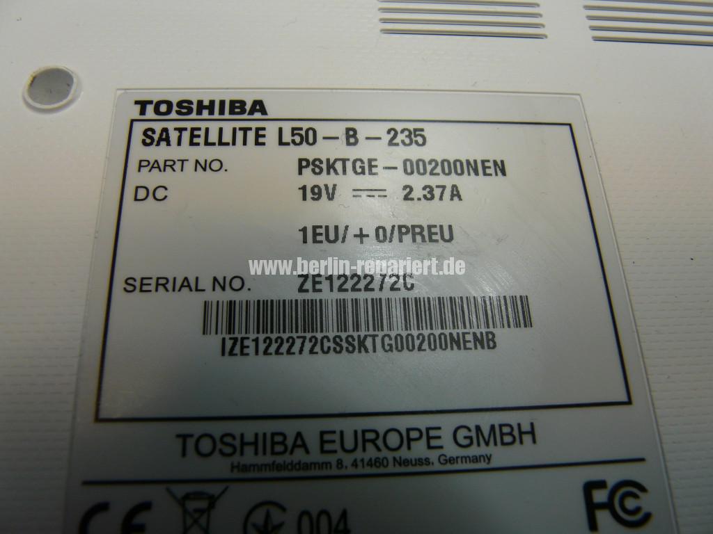 Toshiba Satellite L50, mit Akku Startet nicht, geht schwer an (15)