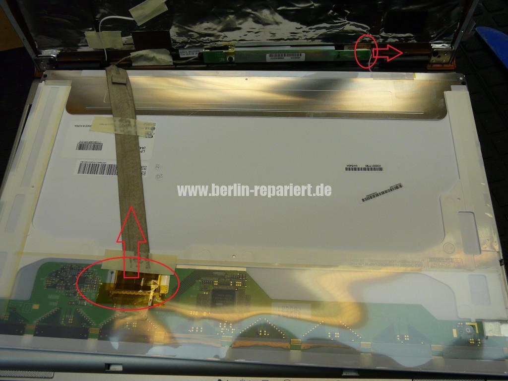 Toshiba Satellite M60, kein Bild, Streifen (16)