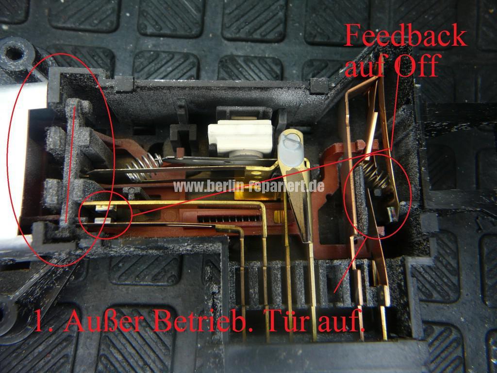 Waschmaschine Türverriegelung Schalter Defekt (4)