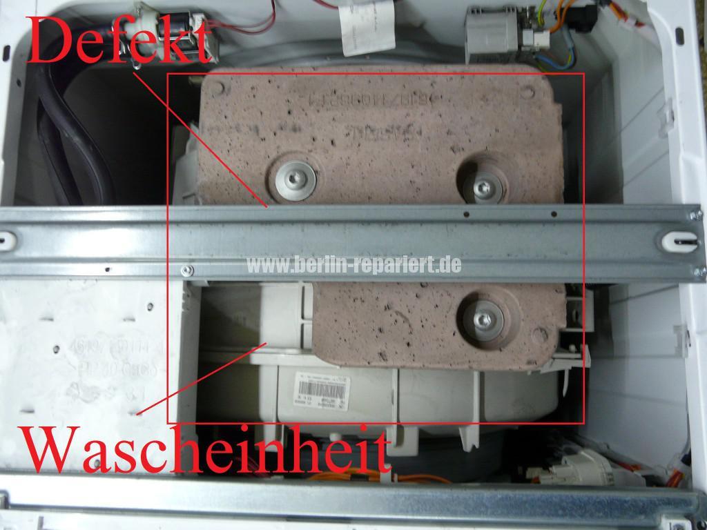 Whirlpool AWO 5225 Schrott, Kugellager Defekt (3)