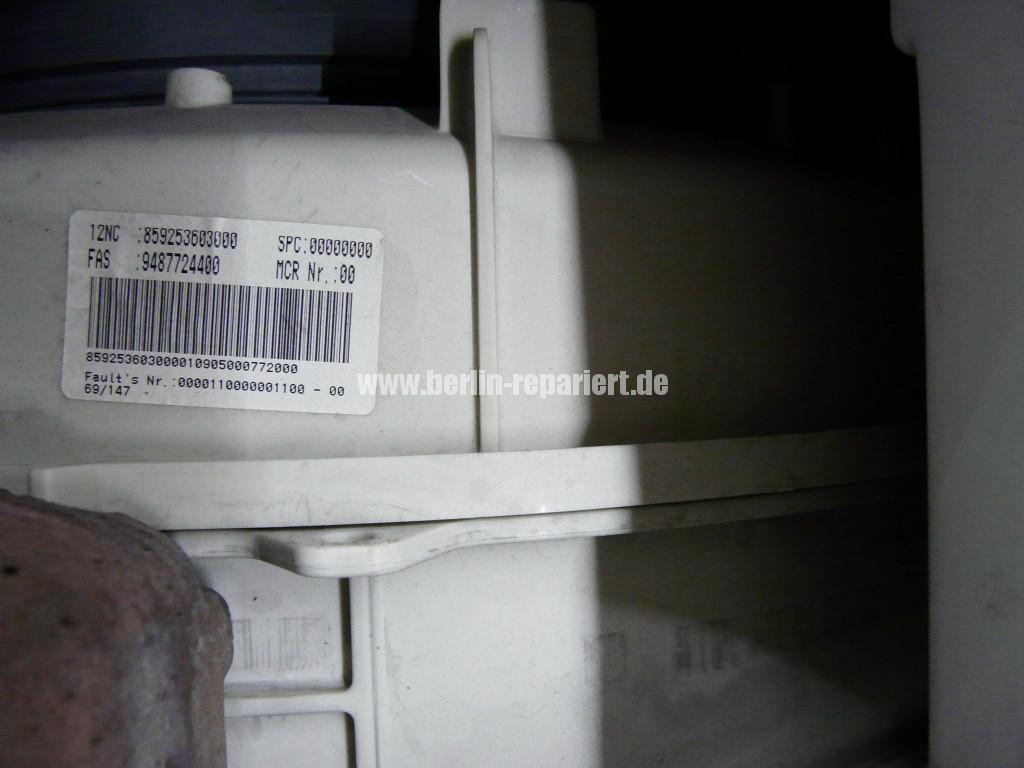 Whirlpool AWO 5225 Schrott, Kugellager Defekt (4)