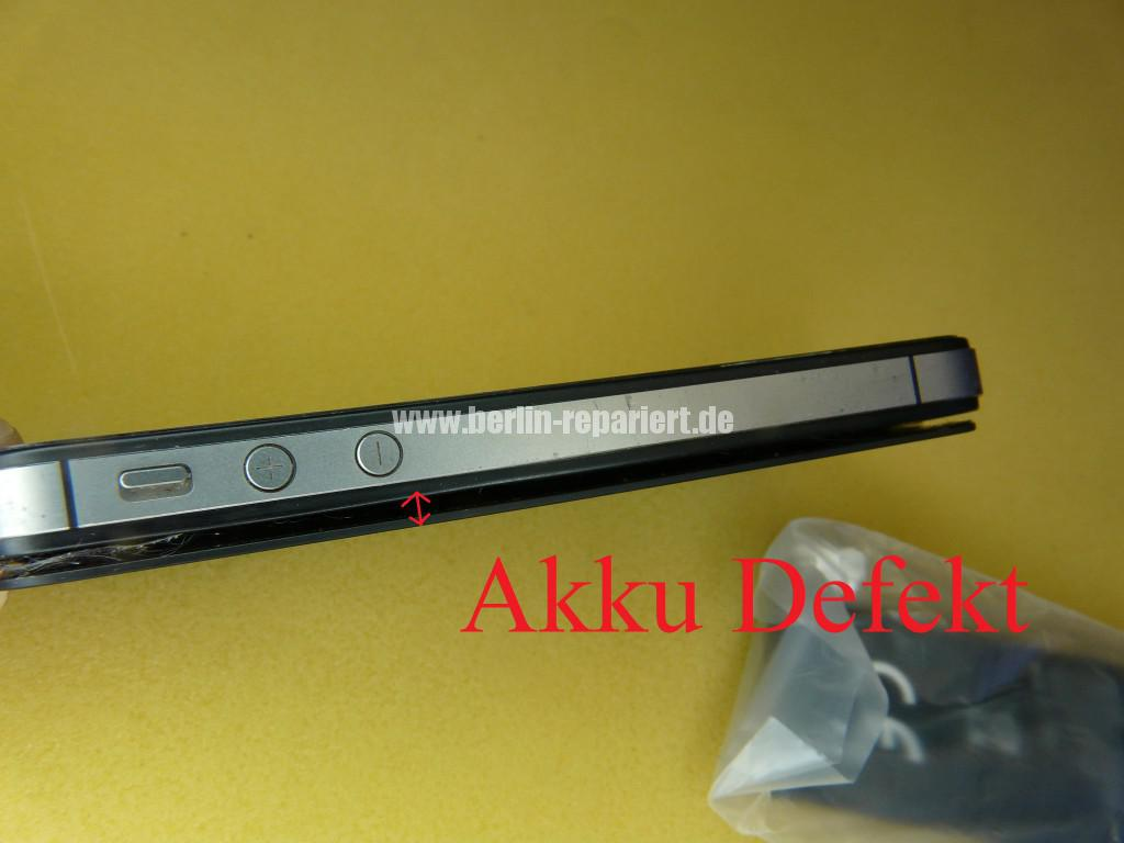 iPhone 4S Aufgeblähter Akku, Lebensgefährlich (1)