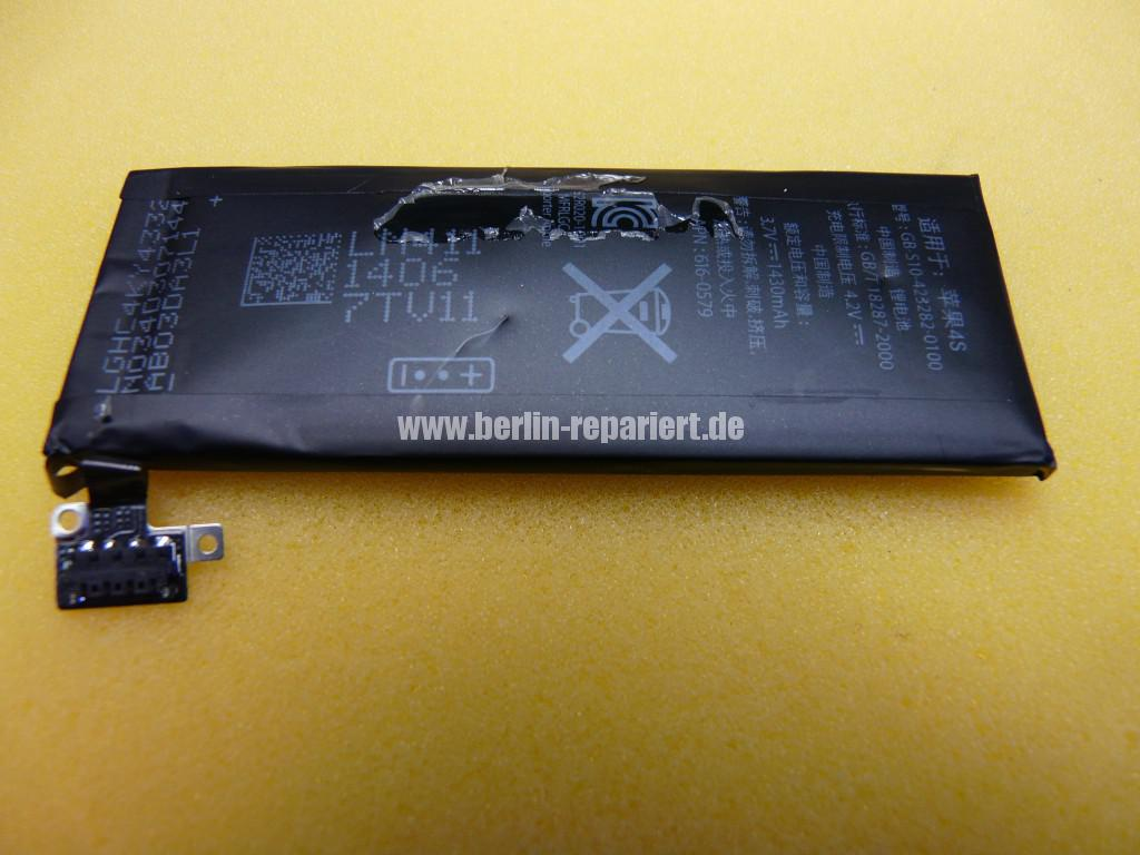 iPhone 4S Aufgeblähter Akku, Lebensgefährlich (5)