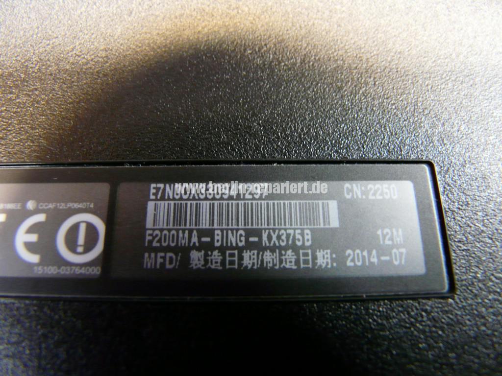 ASUS F200MA, Akku wird nicht geladen (14)