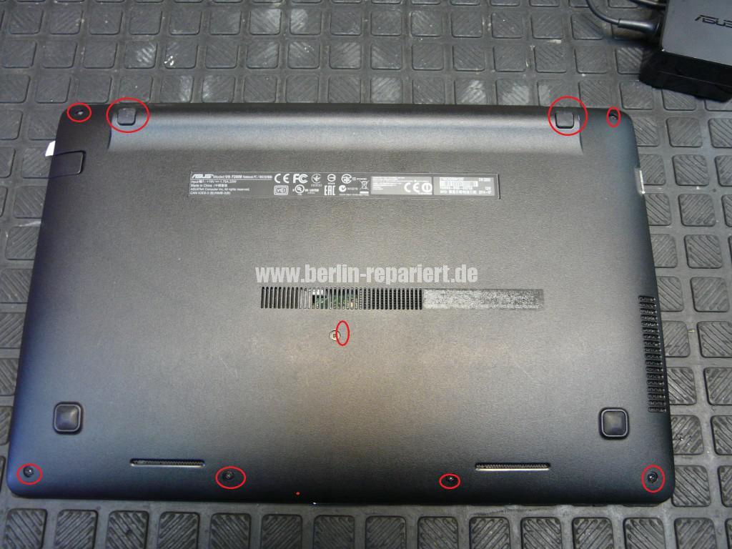 ASUS F200MA, Akku wird nicht geladen (2)