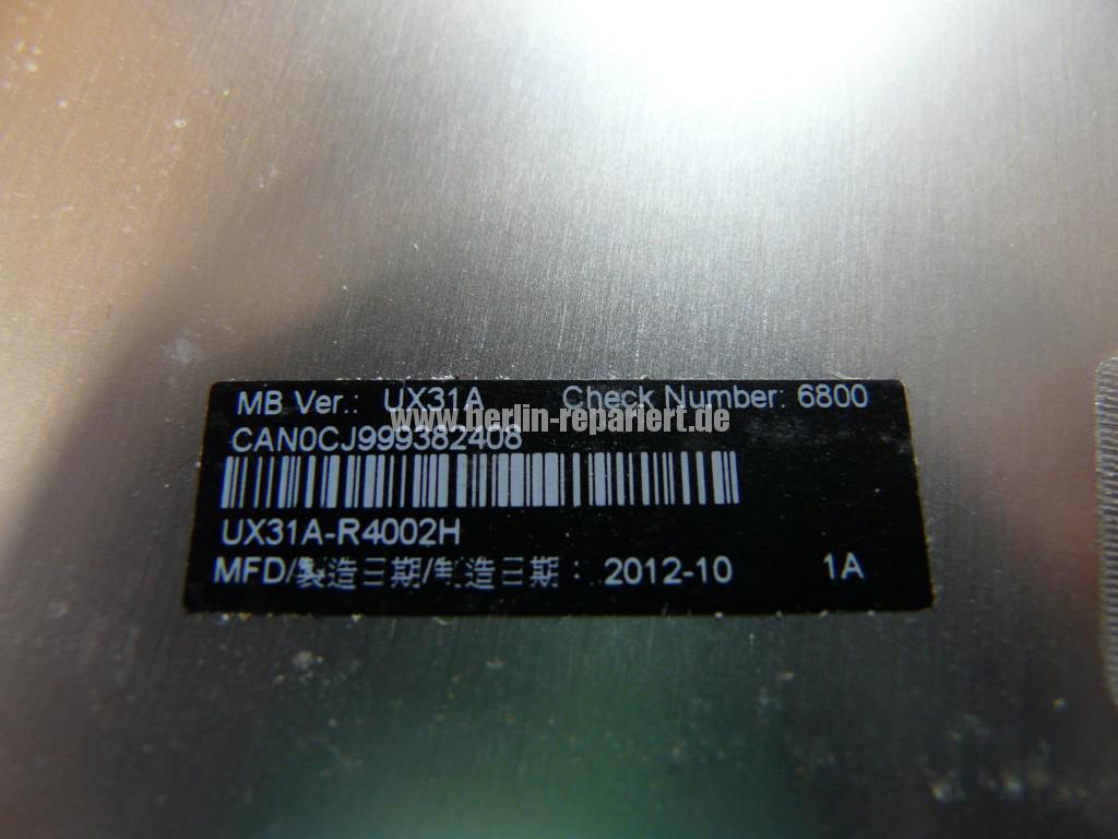 ASUS UX31, SSD Defekt (7)