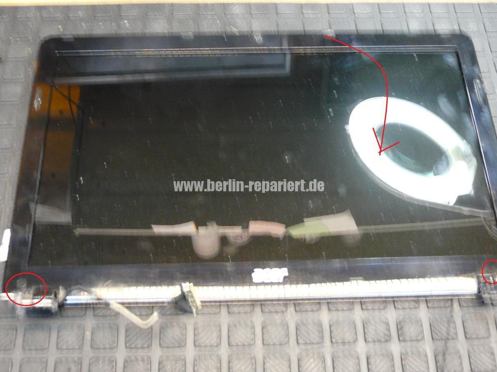 Acer Qualität, Acer E1 Scharniere Defekt, Reparieren (12)