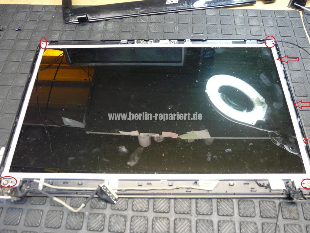 Acer Qualität, Acer E1 Scharniere Defekt, Reparieren (13)