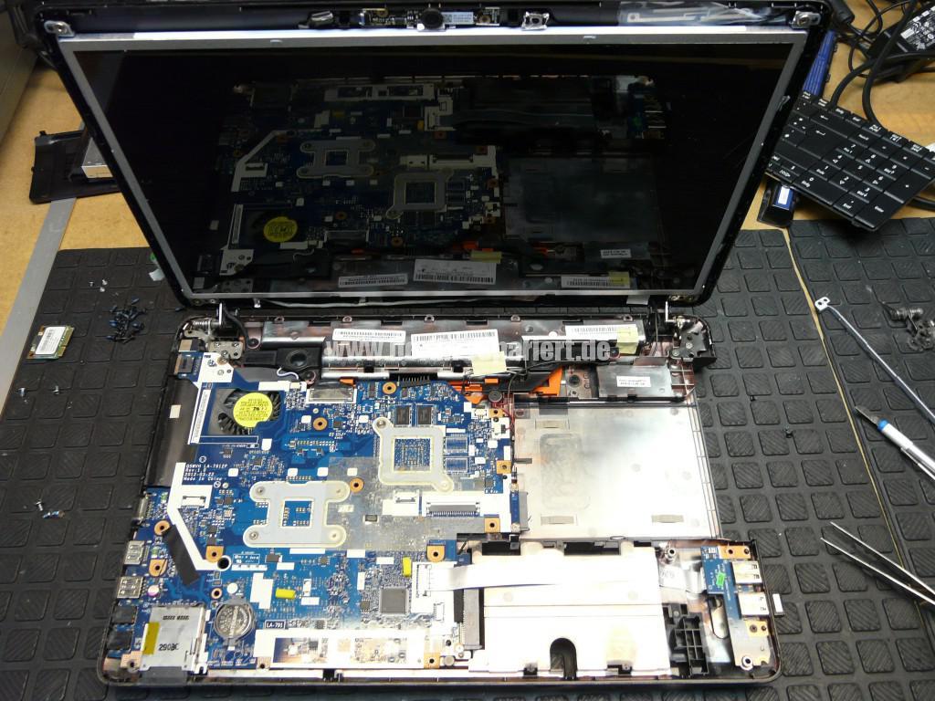 Acer Qualität, Acer E1 Scharniere Defekt, Reparieren (16)