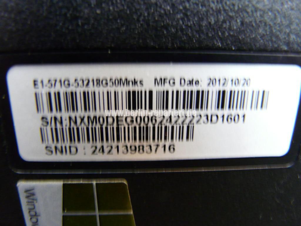 Acer Qualität, Acer E1 Scharniere Defekt, Reparieren (20)