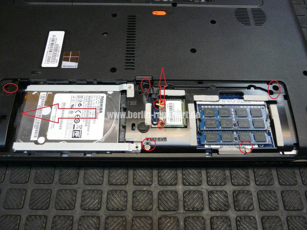 Acer Qualität, Acer E1 Scharniere Defekt, Reparieren (4)