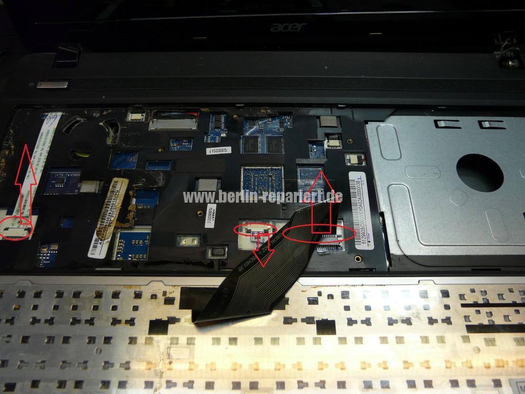 Acer Qualität, Acer E1 Scharniere Defekt, Reparieren (6)
