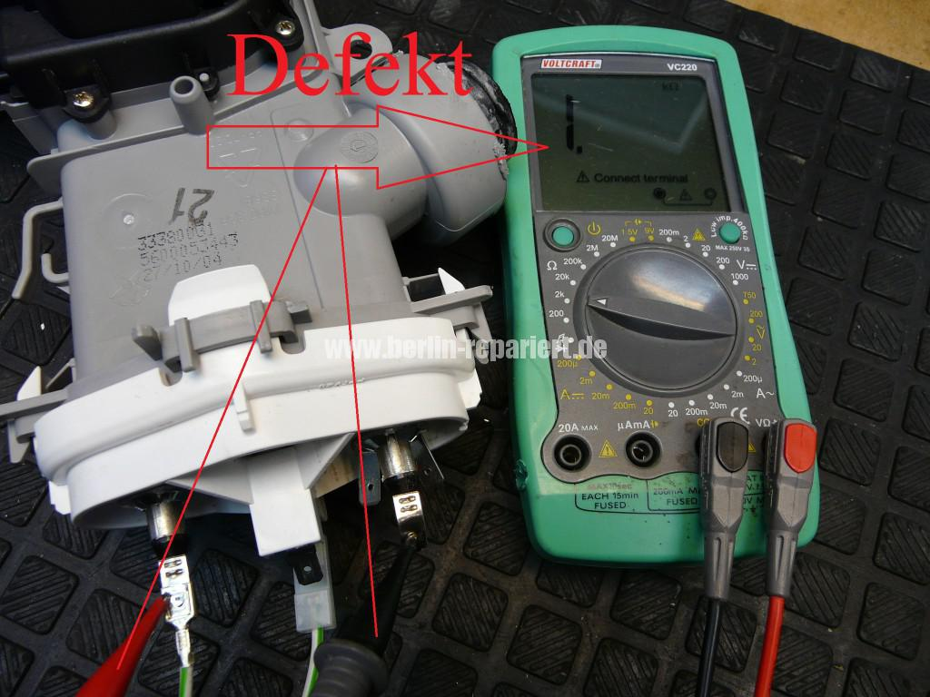Bosch Siemens Geschirrspüler, Heizung Defekt (5)