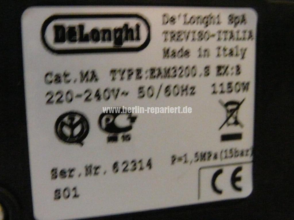 Delonghi Magnifica EAM 3200, Verkalkung Extrem (5)