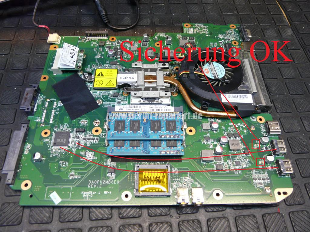 Fujitsu Lifebook AH530, nach Kurzschluss am USB, keine Funktion (10)